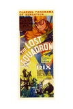 THE LOST SQUADRON, top: Richard Dix on insert poster, 1932. Prints