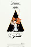 A CLOCKWORK ORANGE, Malcolm McDowell on insert poster, 1971. Prints