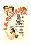 H.M. PULHAM, ESQ., top from left: Robert Young, Hedy Lamarr, bottom: Ruth Hussey, 1941. Prints