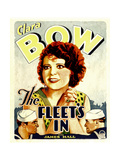 THE FLEET'S IN, center: Clara Bow, 1928. Posters