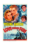 LOVE UNDER FIRE Posters