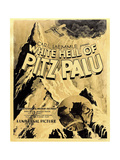 THE WHITE HELL OF PITZ PALU (aka DIE WEISSE HOLLE VOM PIZ PALU) Prints