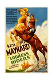 LAWLESS RIDERS, Ken Maynard, 1935. Prints