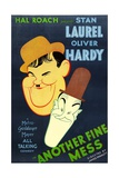 Another Fine Mess, Oliver Hardy, Stan Laurel, 1930 Print
