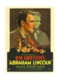 ABRAHAM LINCOLN, Walter Huston, 1930 Prints