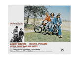 LITTLE FAUSS AND BIG HALSY, (from left): Michael J. Pollard, Lauren Hutton, Robert Redford, 1970. Prints