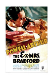 THE EX-MRS. BRADFORD, US poster art, from left: William Powell, Jean Arthur, 1936 Art