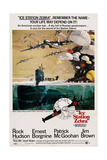 ICE STATION ZEBRA, US poster, 1968 Prints