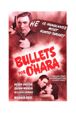 BULLETS FOR O'HARA, top left: Anthony Quinn, bottom from left: Anthony Quinn, Joan Perry, 1941 Prints