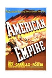 AMERICAN EMPIRE, US poster, 1942 Posters