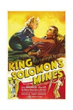 KING SOLOMON'S MINES, Anna Lee, John Loder, 1937 Prints