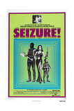 SEIZURE, US poster, top photo: Jonathan Frid, center far right: Herve Villechaize, 1974 Prints