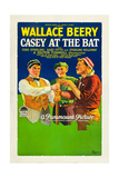 CASEY AT THE BAT, right: Wallace Beery, 1927. Posters