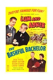 THE BASHFUL BACHELOR, Chester Lauck, Norris Goff, bottom right: Chester Lauck, Zasu Pitts, 1942 Prints