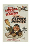 THE FLYING DEUCES, from left: Stan Laurel, Oliver Hardy, 1939. Posters