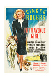 FIFTH AVENUE GIRL, Ginger Rogers, 1939 Posters