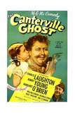 THE CANTERVILLE GHOST, US poster, Margaret O'Brien, Charles Laughton, Robert Young, 1944 Poster