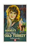 COLD TURKEY, Alice Day, 1925. Posters