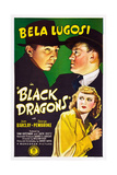 BLACK DRAGONS, Bela Lugosi (left), Joan Barclay, 1942 Prints