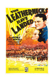 THE LEATHERNECKS HAVE LANDED, US poster art, from top: Lew Ayres, Isabel Jewell, 1936 Posters