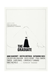 THE GRADUATE, US poster, Dustin Hoffman, 1967 Posters