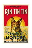 ON THE BORDER, Rin Tin Tin, 1930. Art
