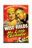 MY LITTLE CHICKADEE, from left: Mae West, W.C. Fields, 1940 Prints