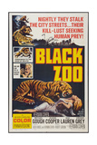 BLACK ZOO, poster art, 1963 Prints