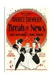 Break The News, Maurice Chevalier, June Knight, Jack Buchanan, 1938 Prints