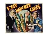 Forty Naughty Girls, James Gleason, Zasu Pitts, 1937 Prints