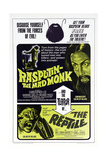 RASPUTIN-THE MAD MONK, THE REPTILE, US poster, Christopher Lee (top right), Noel Willman, 1966 Posters