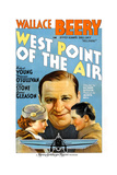 WEST POINT OF THE AIR, from left: Maureen O'Sullivan, Wallace Beery, Robert Young, 1935 Posters