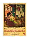 CHILDREN OF PARADISE, (aka LES ENFANTS DU PARADIS), French poster art, 1945. Posters