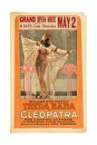 CLEOPATRA, Theda Bara, 1917 Poster