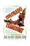 COLORADO TERRITORY, US poster, Joel McCrea, Virginia Mayo, 1949 Posters