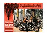 THE WILD ANGELS, Peter Fonda (second from right), 1966. Kunstdrucke