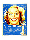ONE NIGHT OF LOVE, Grace Moore, 1934. Prints