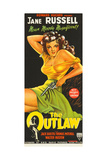 THE OUTLAW, Jane Russell, 1943 Plakater