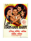 LOVE FINDS ANDY HARDY Print