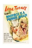 MARRIAGE IS A PRIVATE AFFAIR, Lana Turner, 1944 Prints