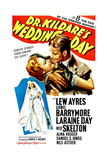 DR. KILDARE'S WEDDING DAY: '8, The Case Of The Terrified Musician!', Lew Ayres, Laraine Day, 1941 Posters