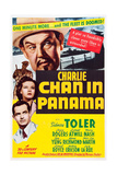 CHARLIE CHAN IN PANAMA Premium Giclée-tryk