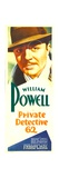 PRIVATE DETECTIVE 62, William Powell, 1933. Print