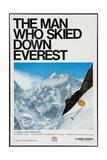 THE MAN WHO SKIED DOWN EVEREST, Yuichiro Miura, 1975 Plakát