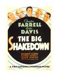 THE BIG SHAKEDOWN Posters