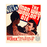 THE MAN WHO WOULDN'T DIE Affiches