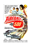 FIREBALL 500, from left: Frankie Avalon, Fabian, Annette Funicello, Julie Parrish, 1966. Prints