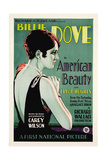 THE AMERICAN BEAUTY, (aka AMERICAN BEAUTY), Billie Dove, 1927. Poster