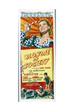 BLONDIE IN SOCIETY, top: Penny Singleton, bottom from left: Arthur Lake, Larry Simms, 1941. Plakat