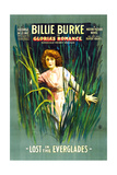 GLORIA'S ROMANCE, Billie Burke in 'Lost In the Everglades', 1-sheet poster art, 1916. Posters